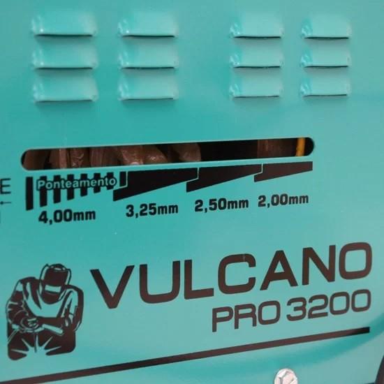 Transformador Para Solda Balmer Vulcano Pro 3200 110/220V 260A  - Rei da Borracha