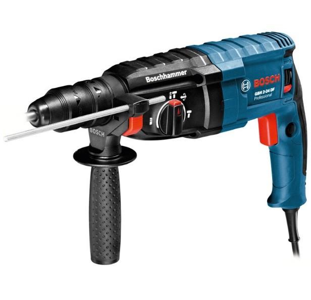 Martelo Perfurador Sds-Plus 820w 220v Gbh 2-24 D Profissional Bosch  - Rei da Borracha