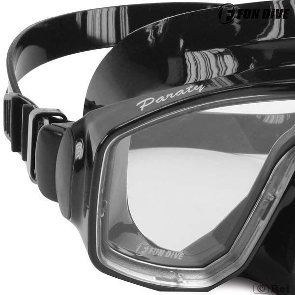 Máscara de Mergulho Siliconada Paraty Fun Dive duas lentes  - Rei da Borracha