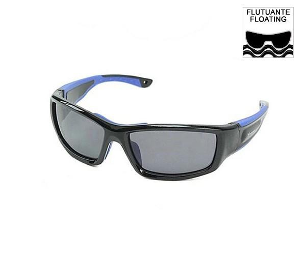 Óculos De Sol Lente Polarizada Proteção Uv400 Flutuante Azul E Preto Maui Fundive  - Rei da Borracha