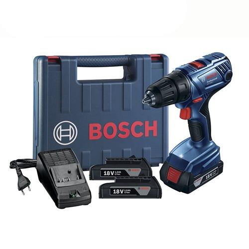 Parafusadeira/Furadeira Bosch de 1/2 Pol. GSR 180-LI Carregador Bivolt  - Rei da Borracha