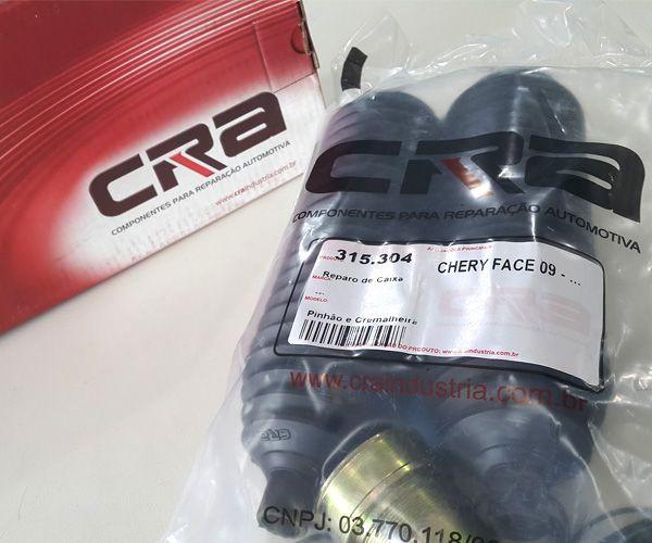 Reparo de Caixa de Direção CRA - Modelo Chery Face 09  - Rei da Borracha