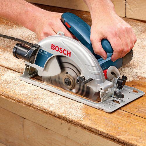 Serra Circular Bosch Gks190 1400w 110v  - Rei da Borracha