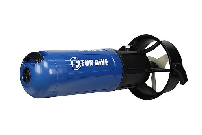 Veículo de Propulsão Subaquática Fundive para Mergulho Recreativo XJOY7  - Rei da Borracha