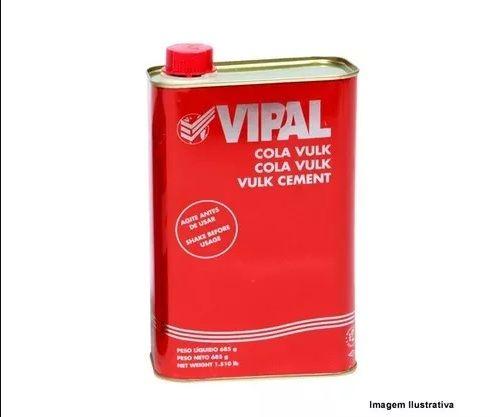 Vulcanite Para Remendo Á Quente 1kg Vipal + Cola Vulk  - Rei da Borracha