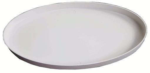 """Protetor de Bobina Minelab Branco Elíptico de 10""""  - Fortuna Detectores de Metais"""