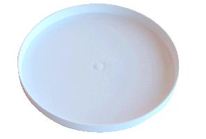 """Protetor de Bobina Minelab Branco de 18""""  - Fortuna Detectores de Metais"""