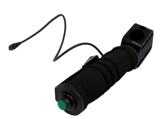 Punho com botão Minelab para série GPX  - Fortuna Detectores de Metais
