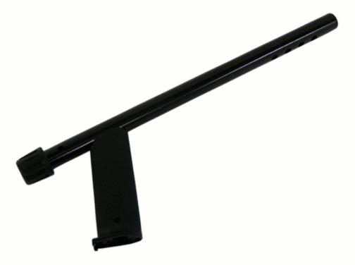 Haste superior preta  Minelab para série X-TERRA  - Fortuna Detectores de Metais