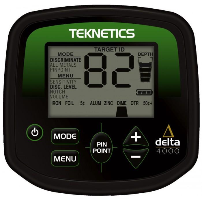 Detector de Metais Teknetics DELTA 4000  - Fortuna Detectores de Metais