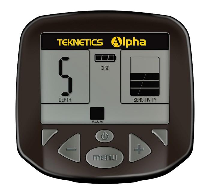 Detector de Metais Teknetics ALPHA 2000  - Fortuna Detectores de Metais
