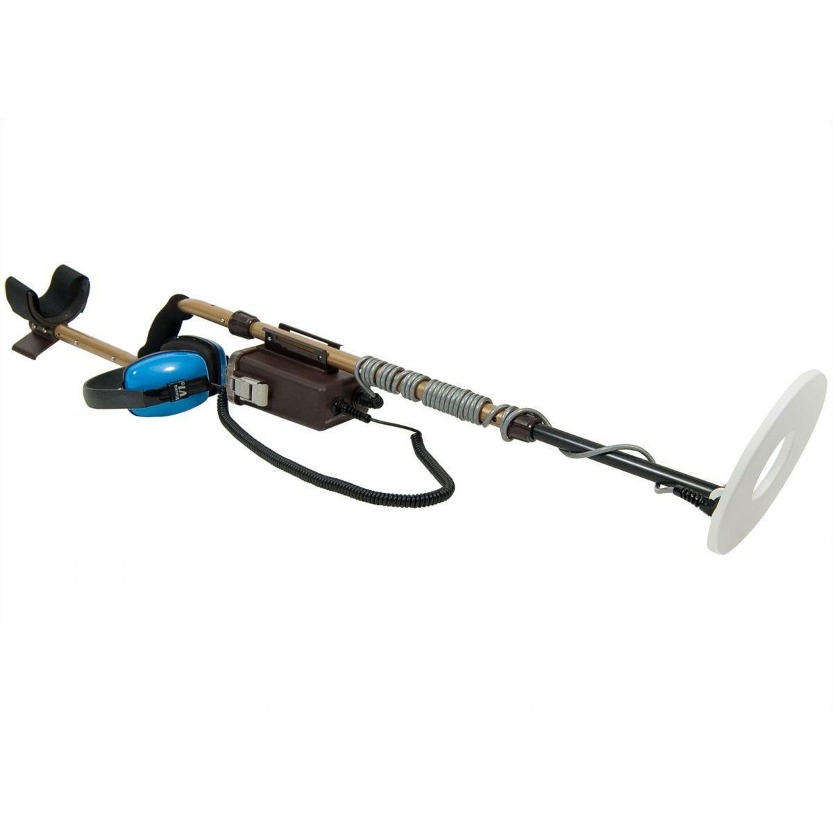 """Detector de Metais Tesoro Sand Shark com Bobina de 8""""  - Fortuna Detectores de Metais"""
