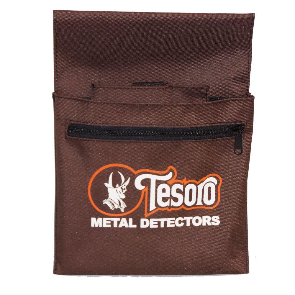 Bolsa para achados Tesoro - Marrom  - Fortuna Detectores de Metais