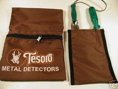 Bolsa para achados Tesoro - Cinza  - Fortuna Detectores de Metais