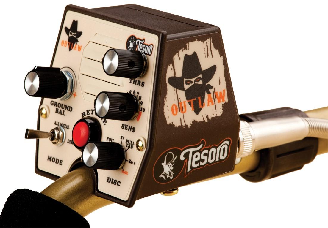 Detector de Metais Tesoro Outlaw  - Fortuna Detectores de Metais