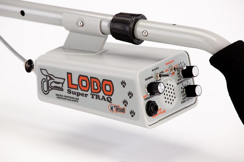 Detector de Metais Tesoro Lobo SuperTRAQ  - Fortuna Detectores de Metais