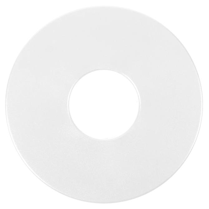 "Protetor de Bobina Tesoro de 8"" redondo branco  - Fortuna Detectores de Metais"