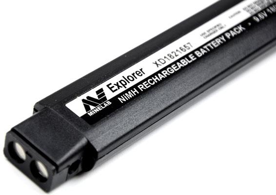 Bateria NiMH 1800mAh Minelab para Safari, E-TRAC, Explorer e Quattro  - Fortuna Detectores de Metais