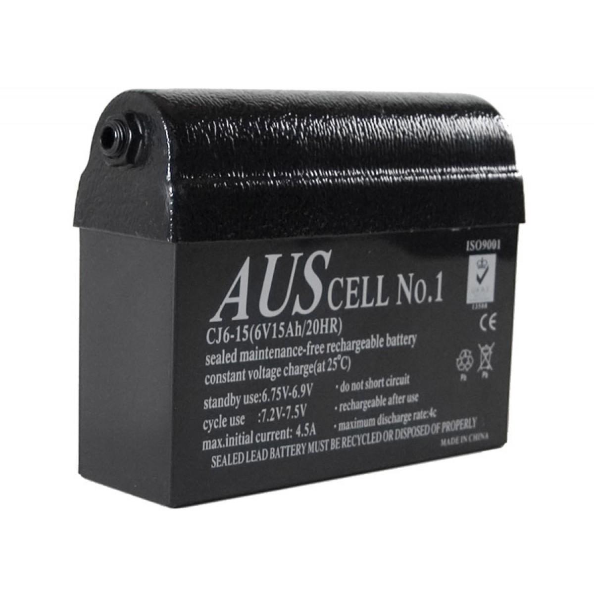 Bateria de Gel 15Ah Minelab para detectores de metais das séries SD e GP