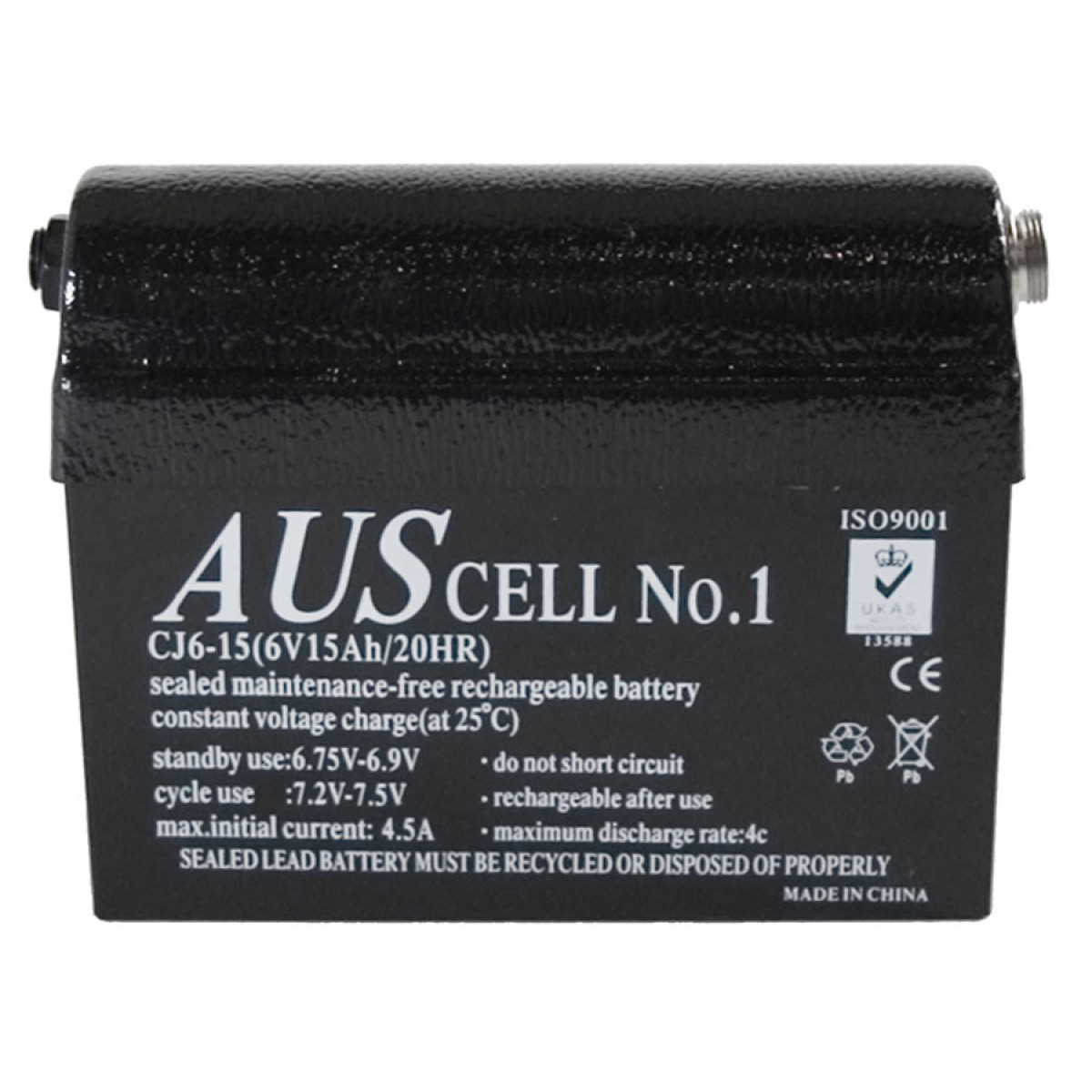 Bateria de Gel 15Ah Minelab para detectores de metais das séries SD e GP  - Fortuna Detectores de Metais