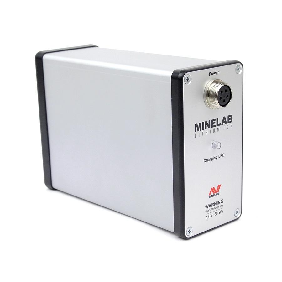 Bateria de íons de lítio Minelab para detectores de metais da série GPX
