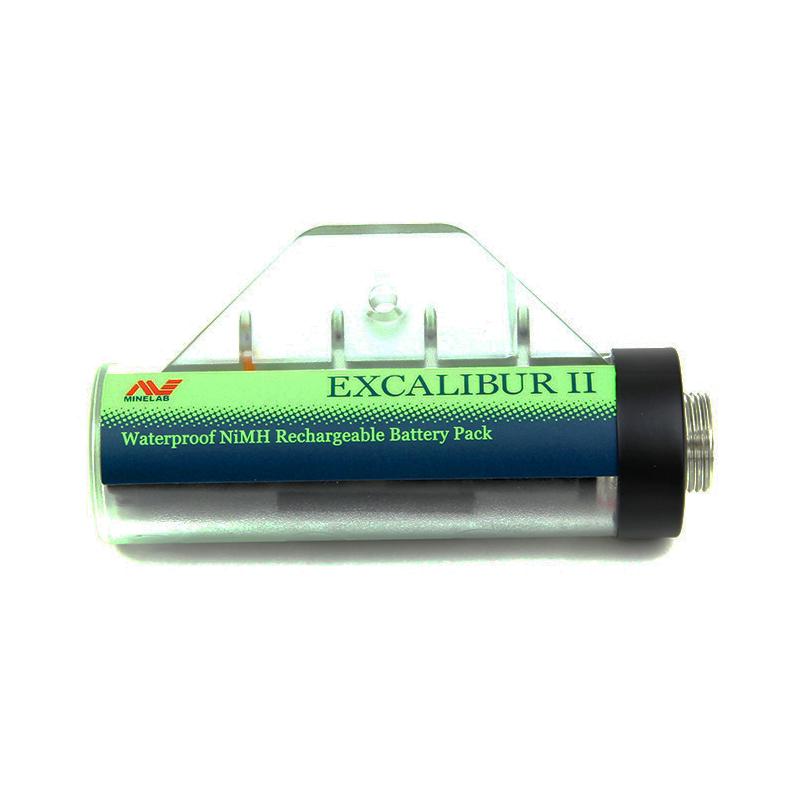 Bateria NiMH Minelab para Excalibur  - Fortuna Detectores de Metais