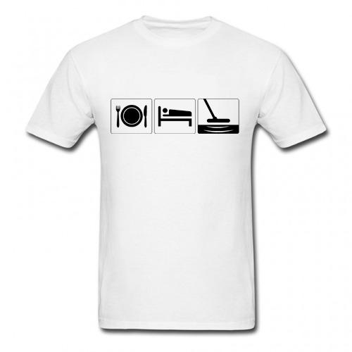 Camiseta Comer Dormir Caçar