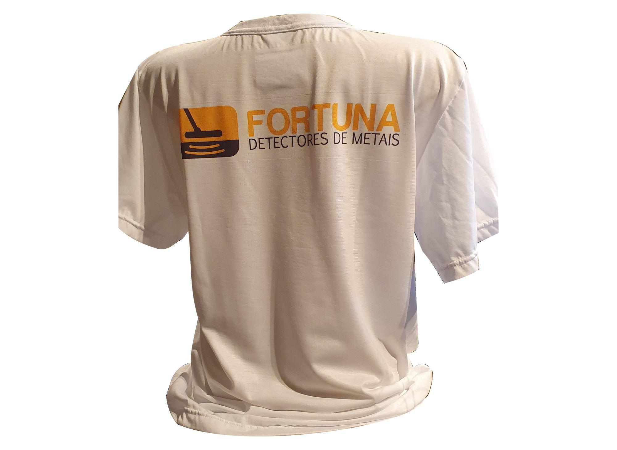 Camiseta Comer Dormir Caçar Unissex  - Fortuna Detectores de Metais