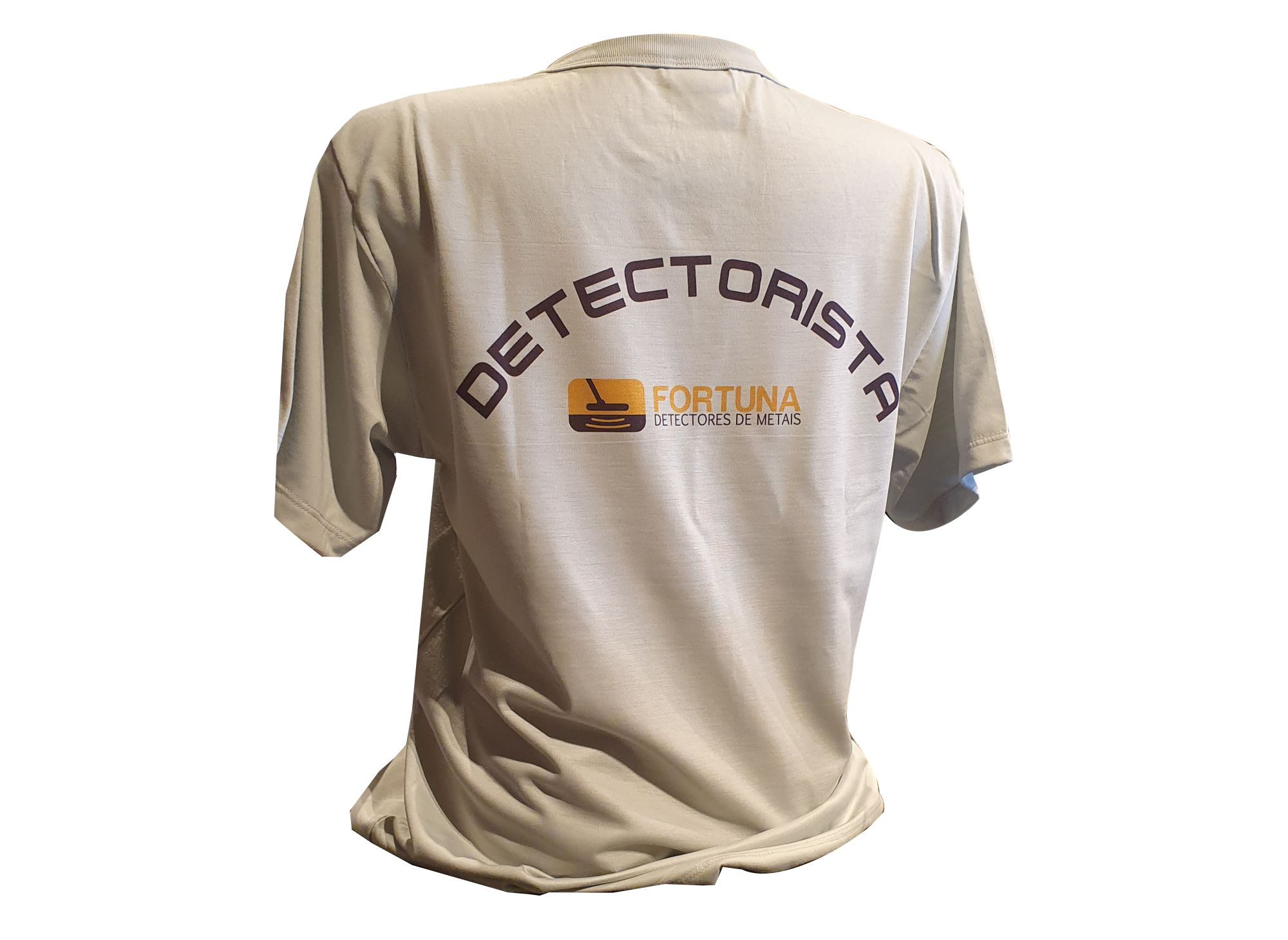 Camiseta Keep Calm and Metal Detect Unissex  - Fortuna Detectores de Metais