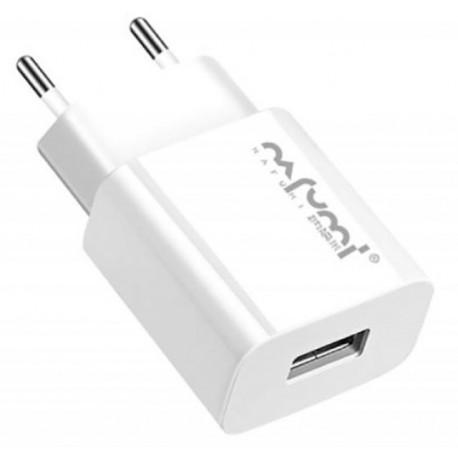 CARREGADOR AC USB  DE 2.1A  Q12  - BIVOLT  - Fortuna Detectores de Metais