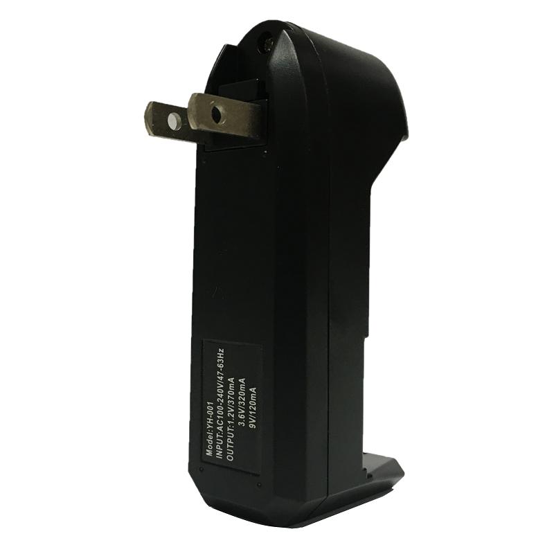Carregador de bateria de íon-lítio universal 1,2 V/ 3,6 V/ 9 V  - Fortuna Detectores de Metais