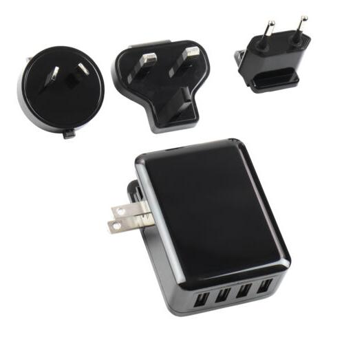 Carregador Minelab AC USB de Quatro Vias - Universal