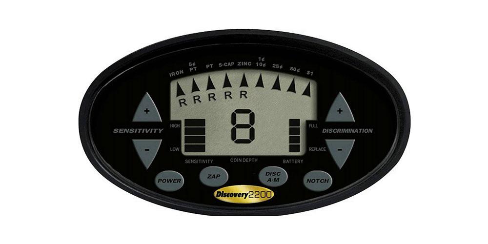 Detector de Metais Bounty Hunter Discovery 2200   - Fortuna Detectores de Metais