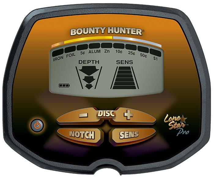 Detector de Metais Bounty Hunter Lone Star PRO  - Fortuna Detectores de Metais