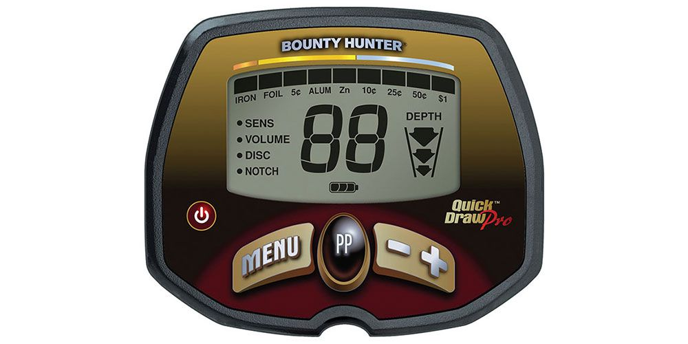 Detector de Metais Bounty Hunter Quick Draw PRO  - Fortuna Detectores de Metais