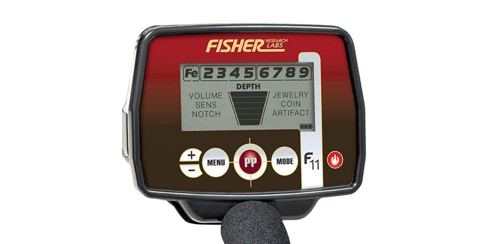 Detector de Metais Fisher F11  - Fortuna Detectores de Metais