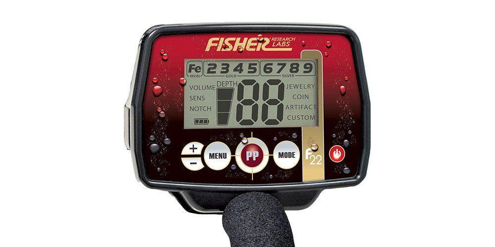 Detector de Metais Fisher F22  - Fortuna Detectores de Metais