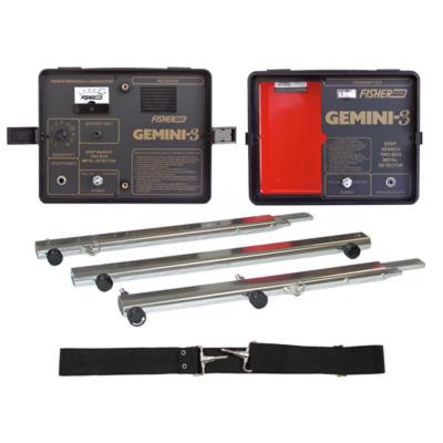 Detector de Metais Fisher GEMINI-3  - Fortuna Detectores de Metais