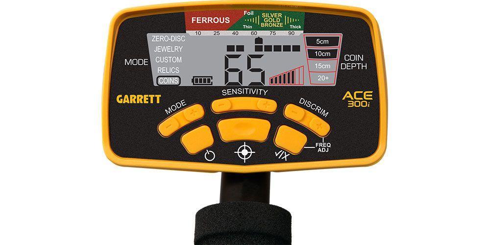 Detector de Metais Garrett ACE 300i  - Fortuna Detectores de Metais