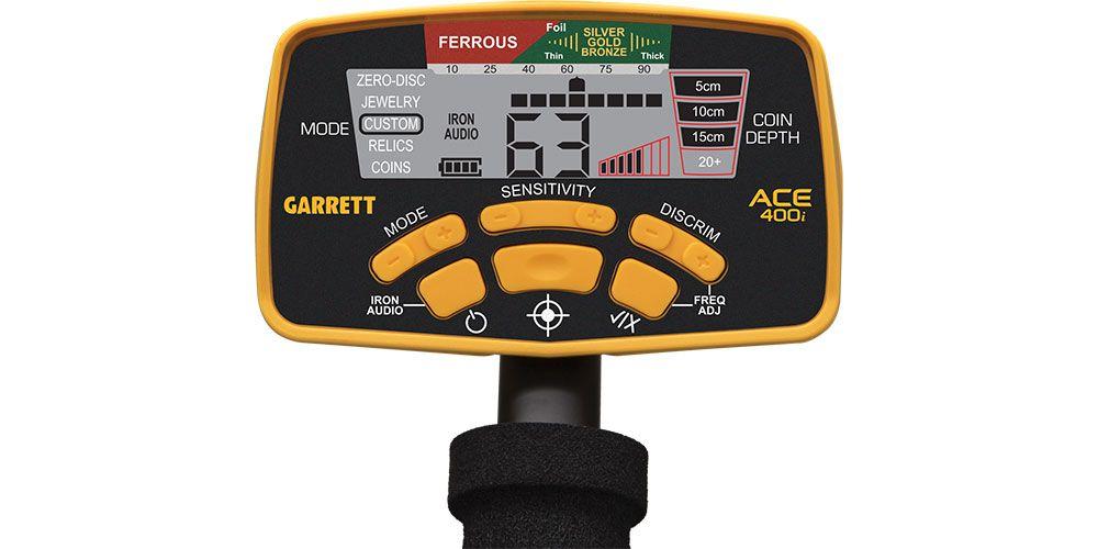 Detector de Metais Garrett ACE 400i  - Fortuna Detectores de Metais