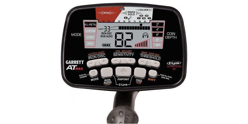 Detector de Metais Garrett AT Max International  - Fortuna Detectores de Metais