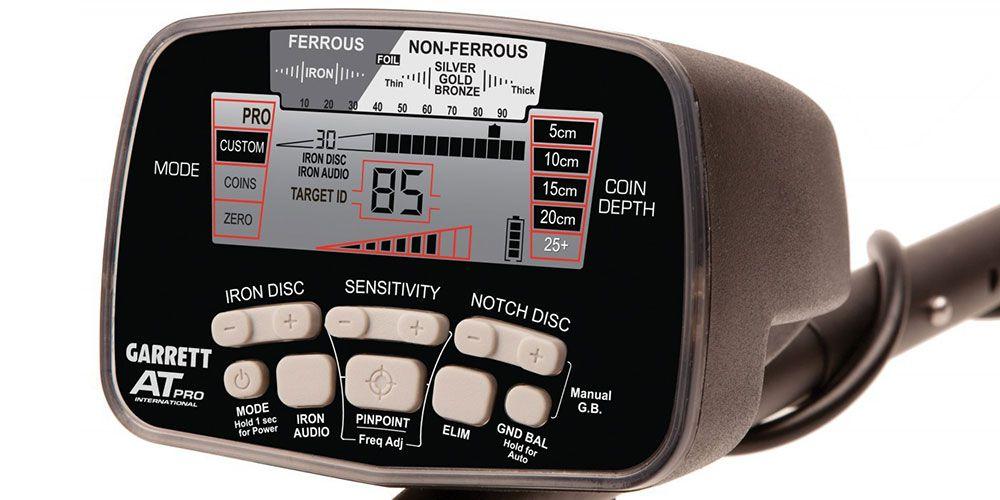Detector de Metais Garrett AT Pro International  - Fortuna Detectores de Metais