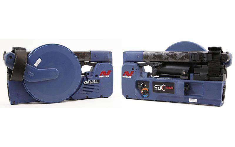 Detector de Metais Minelab SDC 2300  - Fortuna Detectores de Metais