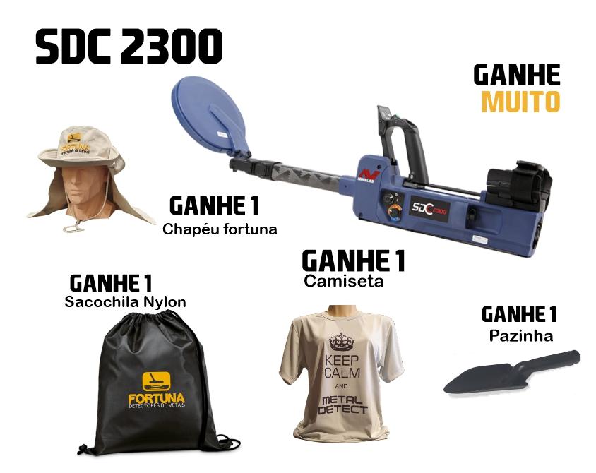 Detector de Metais Minelab SDC 2300