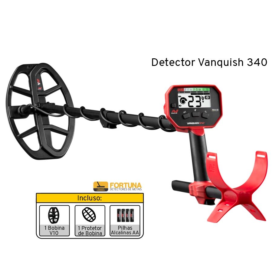Detector de Metais Minelab Vanquish 340