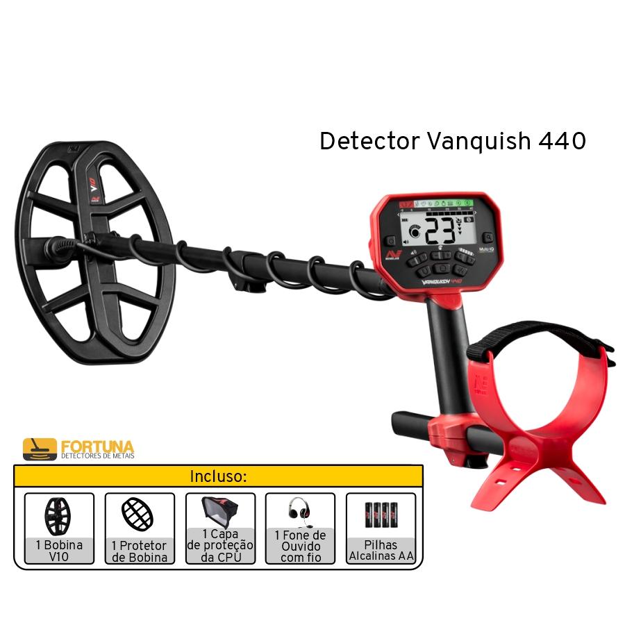 Detector de Metais Minelab Vanquish 440