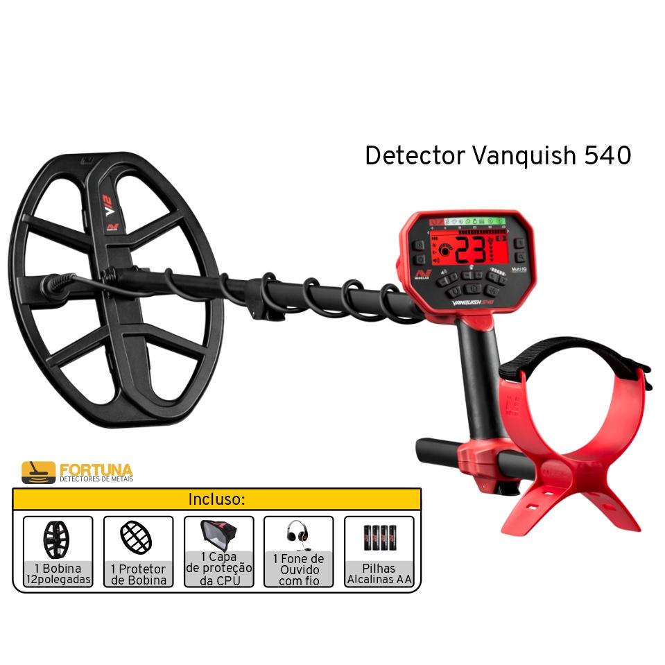 Detector de Metais Minelab Vanquish 540