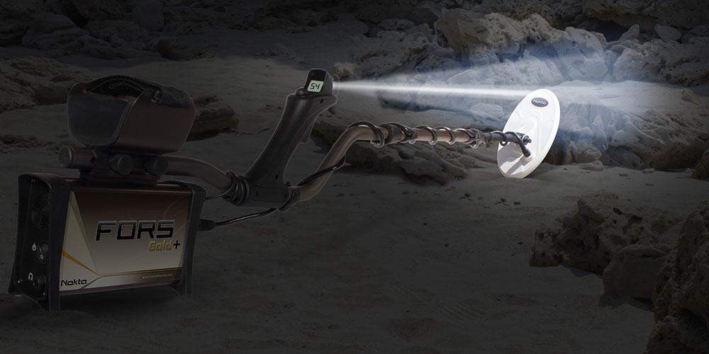 Detector de Metal Nokta Fors Gold +   - Fortuna Detectores de Metais