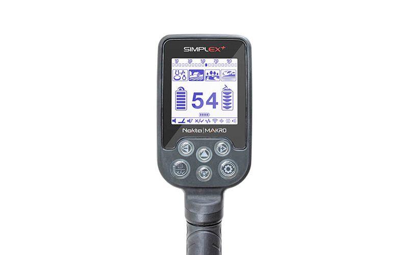 Detector de Metais Nokta | Makro Simplex+  Com Fone Sem Fio  - Fortuna Detectores de Metais