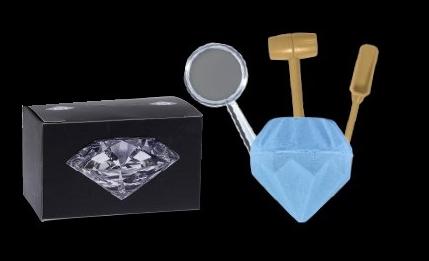 Escava Prêmio DTC - Diamante   - Fortuna Detectores de Metais